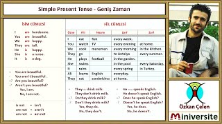 15 Simple Present Tense Geniş Zaman