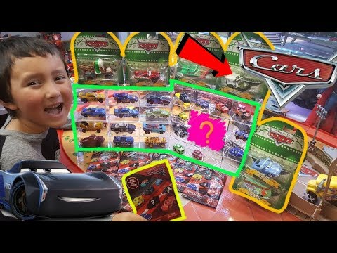 Opening a NEW BOX of DISNEY CARS!! MYSTERY CARS 3 BAGS!! Awesome Display Cases for Toys & More!!