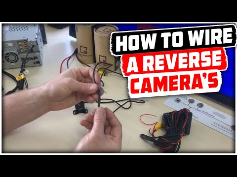 how to wire a reverse cameras | reverse camera wiring explained - youtube  youtube