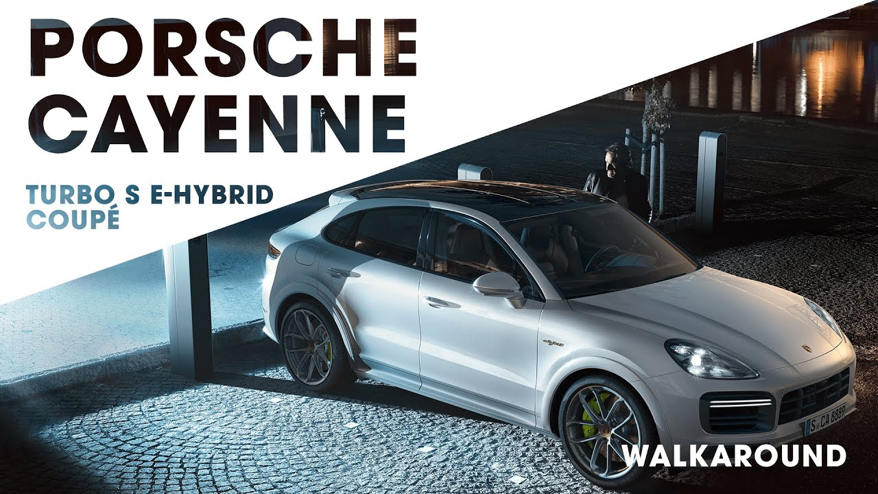 The Porsche Cayenne Turbo S E Hybrid Coupe Giltrap Tv Youtube