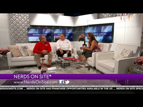Nerds On Site® featured on Modern Living with kathy ireland®