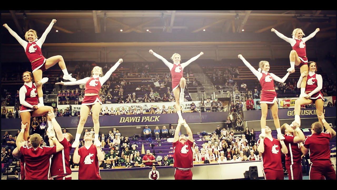 UW Huskies Cheerleaders 2012 compilation - YouTube