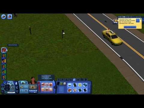 Sims 3 - Murdering A Civilian & A Police Officer - YT