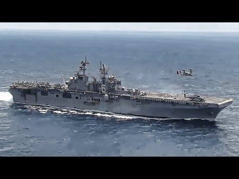 USS Bonhomme Richard Flight Deck Ops • East China Sea