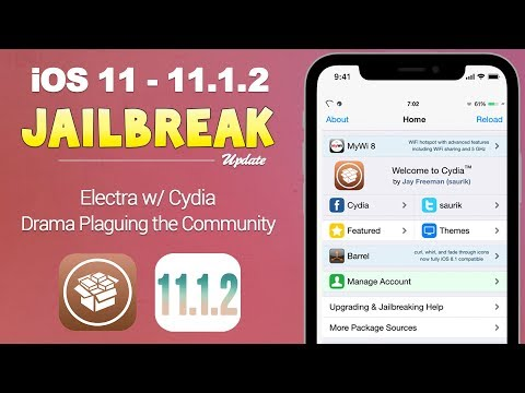 iOS 11 - 11.1.2 Jailbreak: Electra w/ Cydia Still Coming, Drama Drama Drama | JBU 50