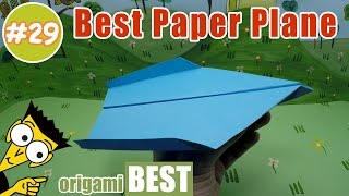 Paper Airplane Folding - Origami BEST #origami