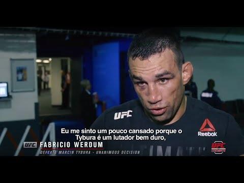 UFC Sydney: Entrevista de backstage com Fabrício Werdum