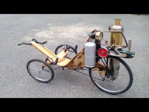 Amazing Steam machine bike