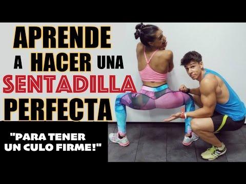 APRENDE A HACER UNA SENTADILLA PERFECTA - ¡CULO FIRME!