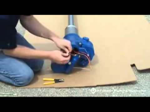 how to wire a franklin stp pump motor assembly