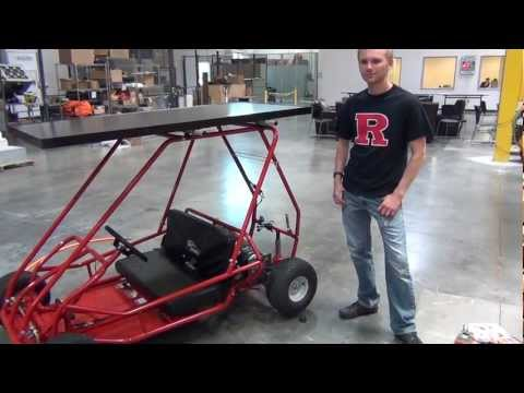 Solar Powered Go Kart, Clip 1/2