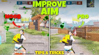 HOW TO IMPROVE AIM IN BGMI🔥BATTLEGROUNDS MOBILE INDIA BEST CLOSE RANGE TIPS AND TRICKS PUBG MOBILE screenshot 4