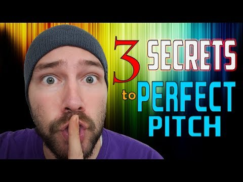 The 3 SECRETS to Perfect Pitch | Mike The Music Snob