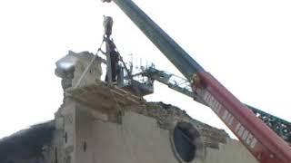 Sisma Abruzzo il lavoro dei SAF nella chiesa di San Vito