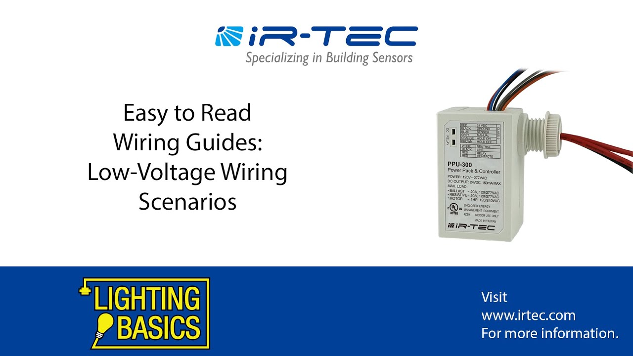 Easy Wiring Guides for Common Low-Voltage Scenarios