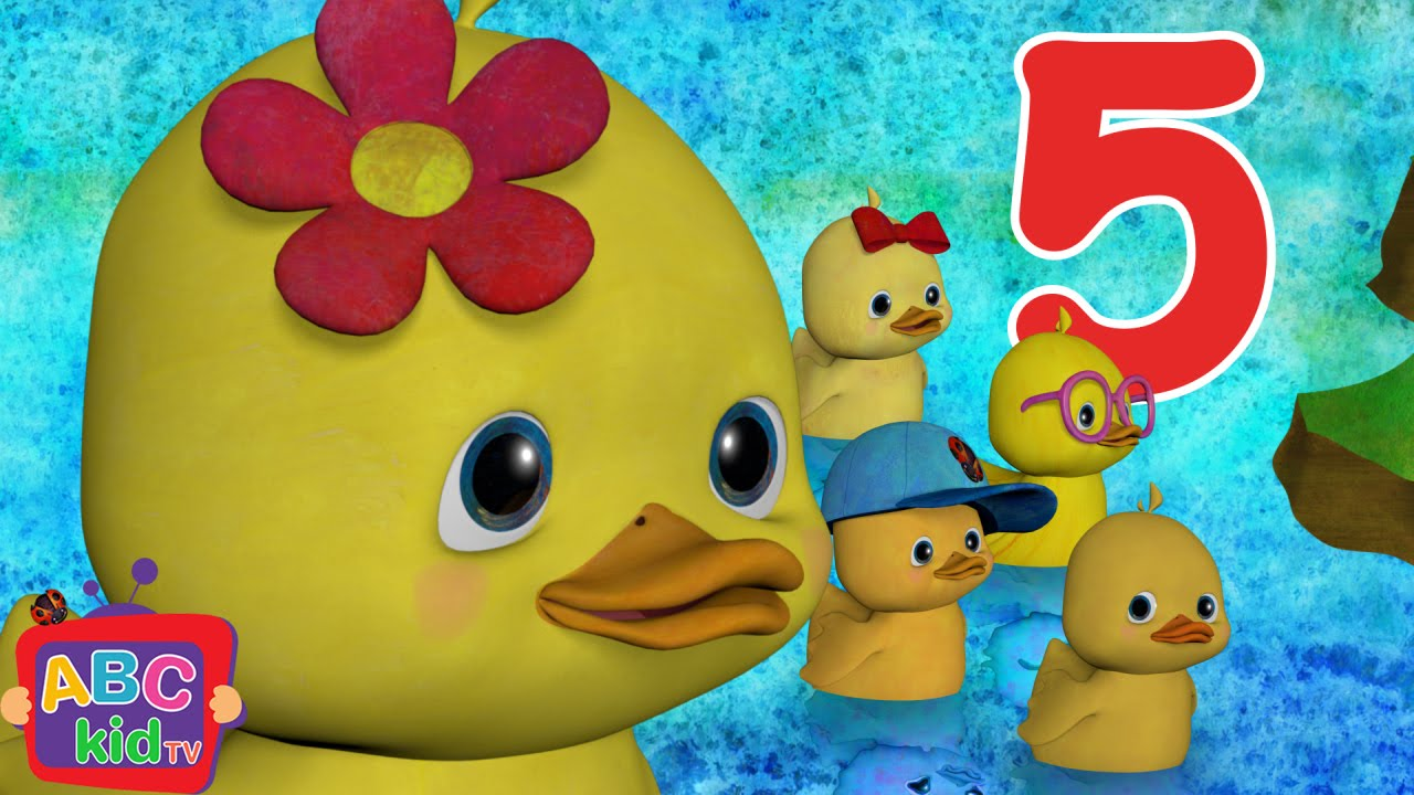 Five Little Ducks | CoComelon Nursery Rhymes & Kids Songs