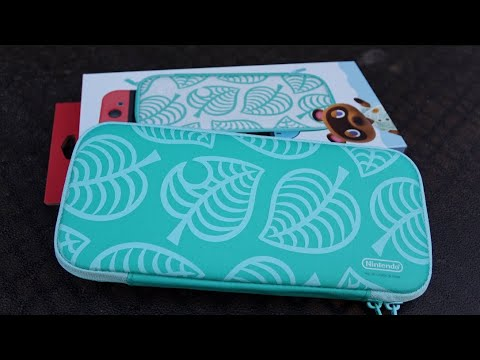 The Official Animal Crossing Nintendo Switch Case Youtube