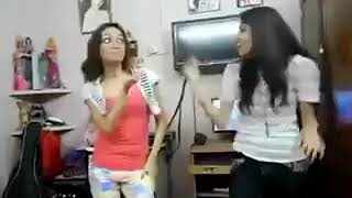 Two Pakistani Girls Dancing In Room