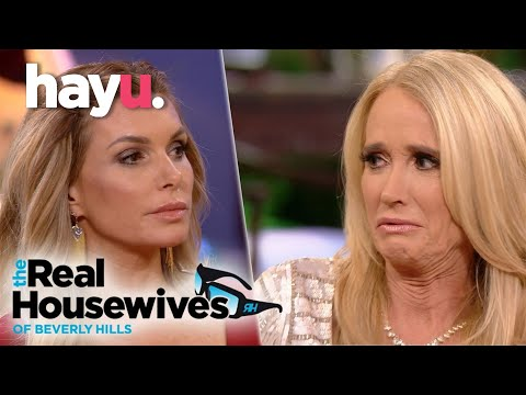 The Real Housewives of Beverly Hills | Eden And Kim Fight At Reunion