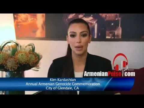 Kim Kardashian Armenian,Aramean,Greek Genocide 2013 Commemoration NEW !!!