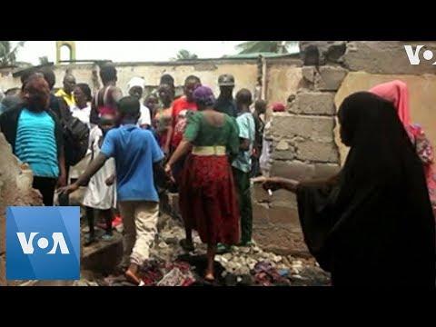 Liberia School Fire Leaves Many Children Dead