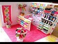Miniature Dollhouse Shop/ Minijaturna prodavnica od papira