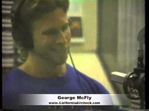 George McFly X100 KXXX Radio San Francisco