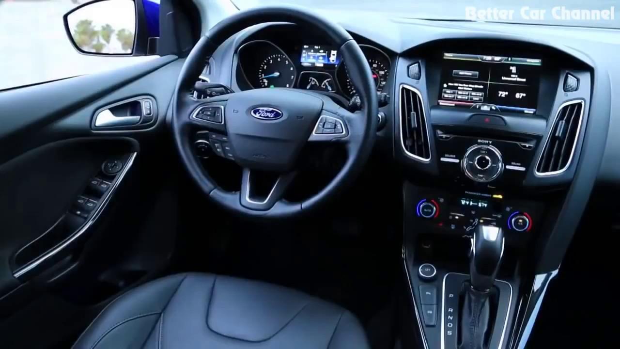 2016 Kia Forte 5 Vs Ford Focus Anium Exterior Interior Drive