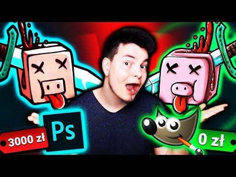 GRAFIK vs GIMP - LOGO Kwadratowej masakry! thumbnail