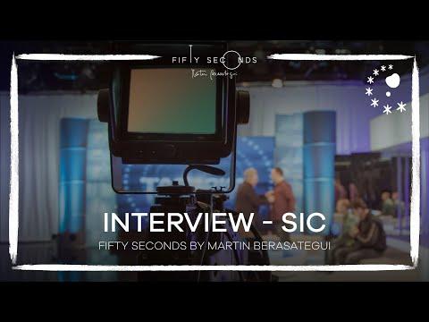 SIC Jornal Da Noite / Vida Extra FIFTY SECONDS Martin Berasategui