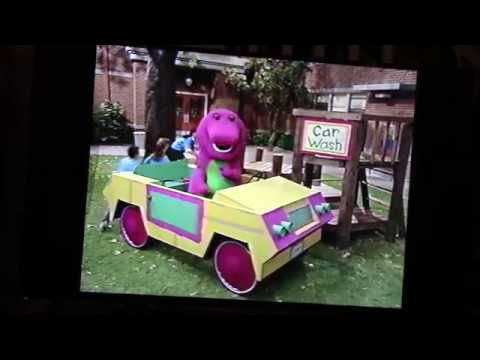 """Barney & Friends - Riding In Barney's Car"" VHS  (1995)"