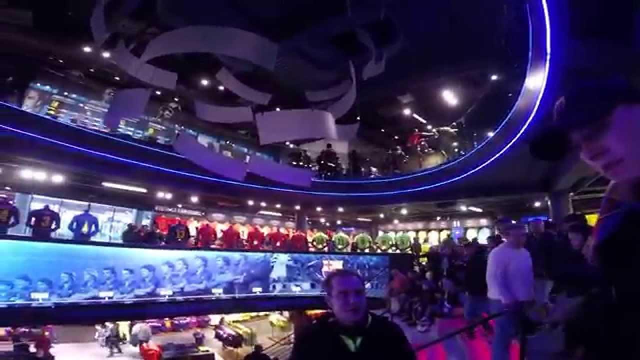 Inside The Camp Nou FCBotiga Megastore - YouTube b4cb3b3a52b