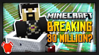 HOW TO PASS 30,000,000 BLOCKS in MINECRAFT?!