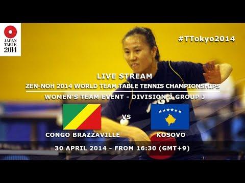 #TTokyo2014: Congo Brazzaville - Kosovo