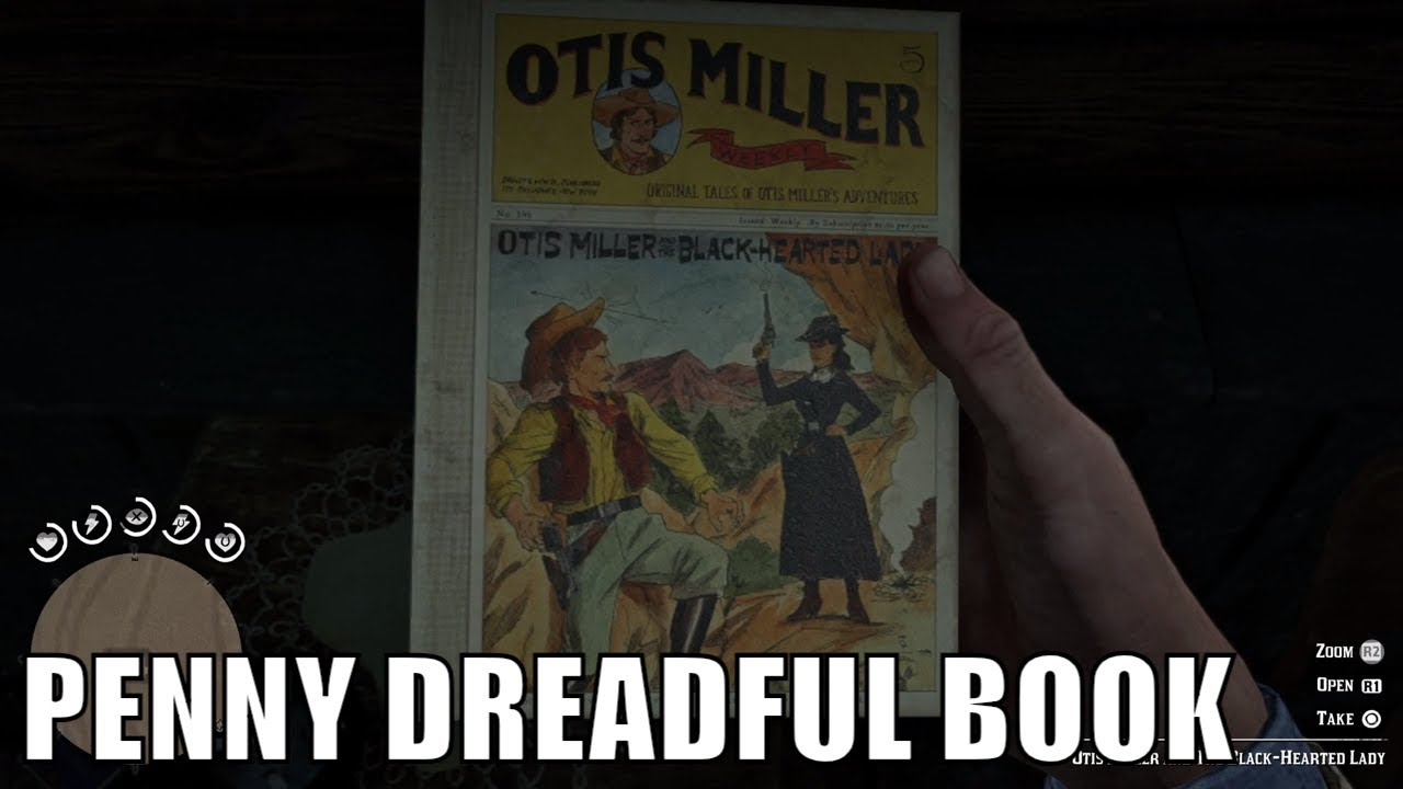 red dead redemption 2 penny dreadful book