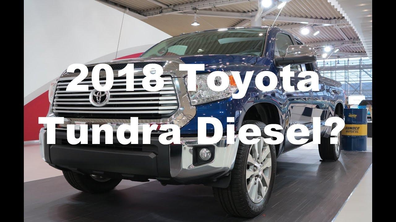Toyota Tundra Diesel >> 2018 Toyota Tundra Diesel Youtube