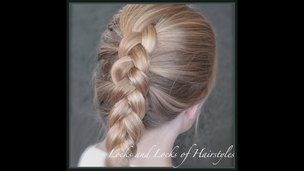 How To Do A Dutch Braid Or Inside Out French Braid Youtube