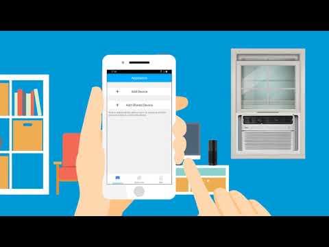 Midea SmartCool Air Conditioner Alexa Enabled Set Up Video