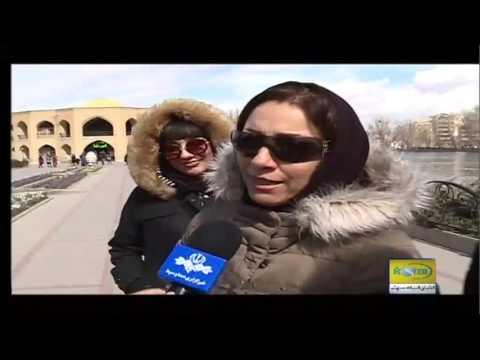 مصاحبه جالب با مسافران نوروزی 96 در ائل گؤلی تبریز Tabriz