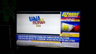 DZMM  TeleRadyo SIGN-OFF January 7, 2018