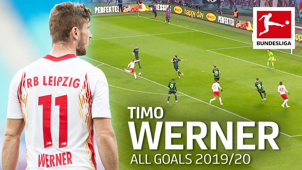 Timo Werner - All Goals 2019/2020