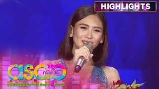 Sarah G reveals the details of her engagement with Matteo! | ASAP Natin 'To