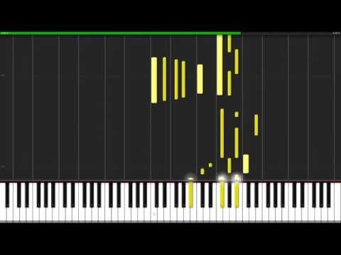 Clair de Lune - Claude Debussy [Piano Tutorial] (Synthesia)