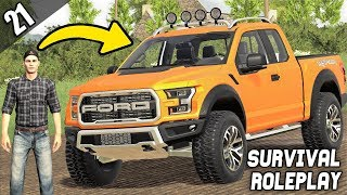 A NEW FORD RAPTOR? - Survival Roleplay S2   Episode 21