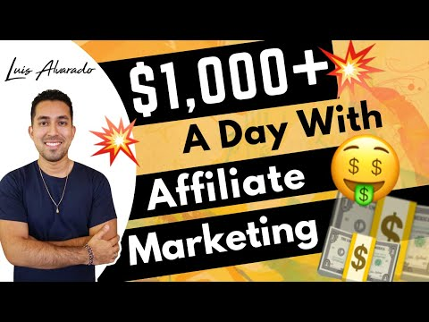 How I Made $1,000+ In One DAY With Affiliate Marketing