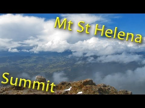 Mt St Helena Summit In The Snow | Hiking Vlog