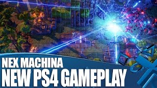 Nex Machina PS4 Gameplay - New Shooter From The Makers Of Resogun