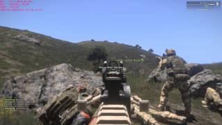 Arma 3 Online Gameplay & Settings Test 1080p ASUS G750JW NVIDIA GTX 765m