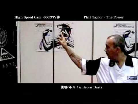 Phil Taylor's Throw