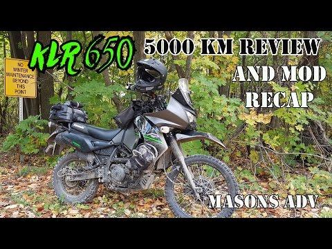 2015 Kawasaki KLR 650 5000 Km Review And Mod Recap